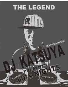 DJ KATSUYA小